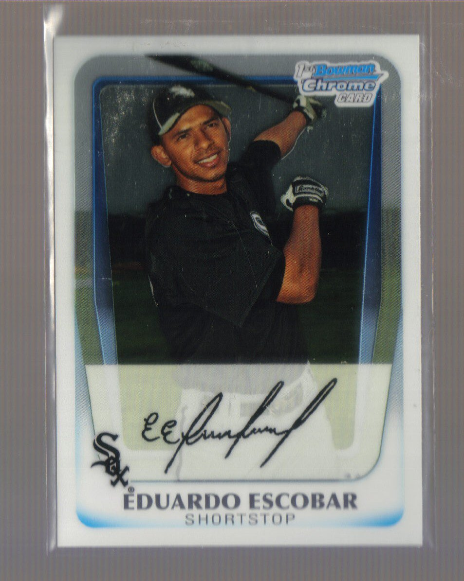 2011 Bowman Prospects Chrome  #38  EDUARDO ESCOBAR   White Sox