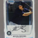 2011 Bowman Prospects Chrome  #73  KEVIN RIVERS   Mariners