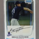 2011 Bowman Prospects Chrome  #103  BRIAN FLETCHER   Royals