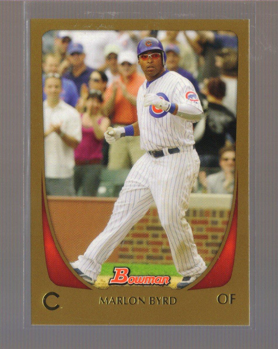 2011 Bowman Gold  #9  MARLON BYRD   Cubs