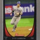 2011 Bowman  #11  JOSH HAMILTON   Rangers