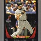 2011 Bowman  #55  JORGE POSADA   Yankees