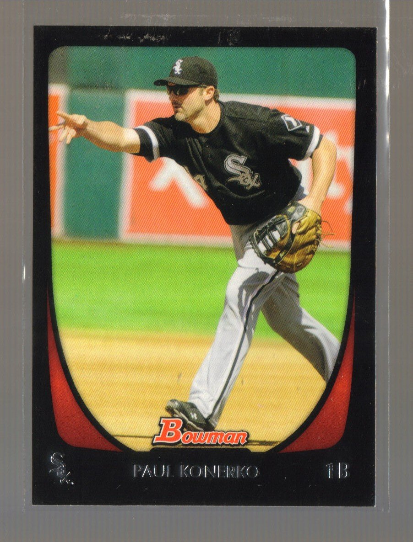 2011 Bowman  #76  PAUL KONERKO   White Sox