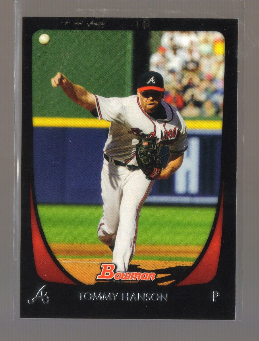 2011 Bowman  #83  TOMMY HANSON   Braves