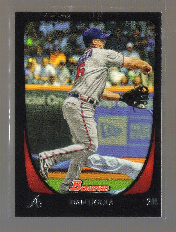 2011 Bowman  #107  DAN UGGLA   Braves