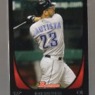 2011 Bowman  #136  JOSE BAUTISTA   Blue Jays