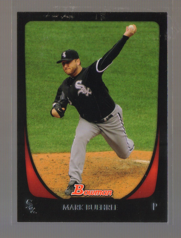 2011 Bowman  #151  MARK BUEHRLE    White Sox