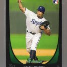 2011 Bowman  #195  JEREMY JEFFRESS   RC   Royals