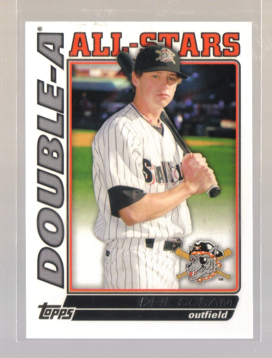 2010 Topps Pro Debut Double-A All-Stars  #2  DEIK SCRAM   Tigers