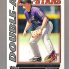 2010 Topps Pro Debut Double-A All-Stars  #12  BEAU MILLS   Indians