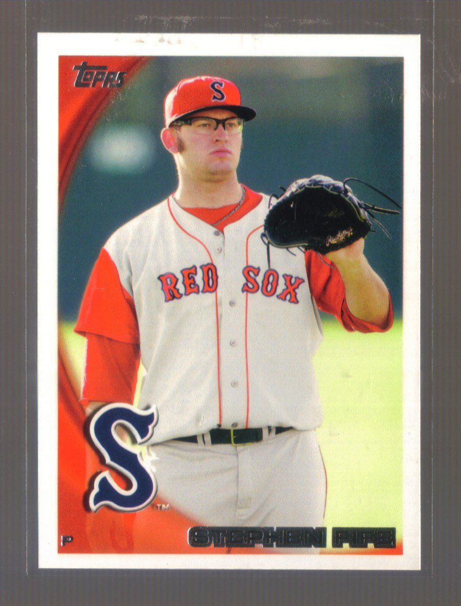 2010 Topps Pro Debut  #37  STEPHEN FIFE   Red Sox