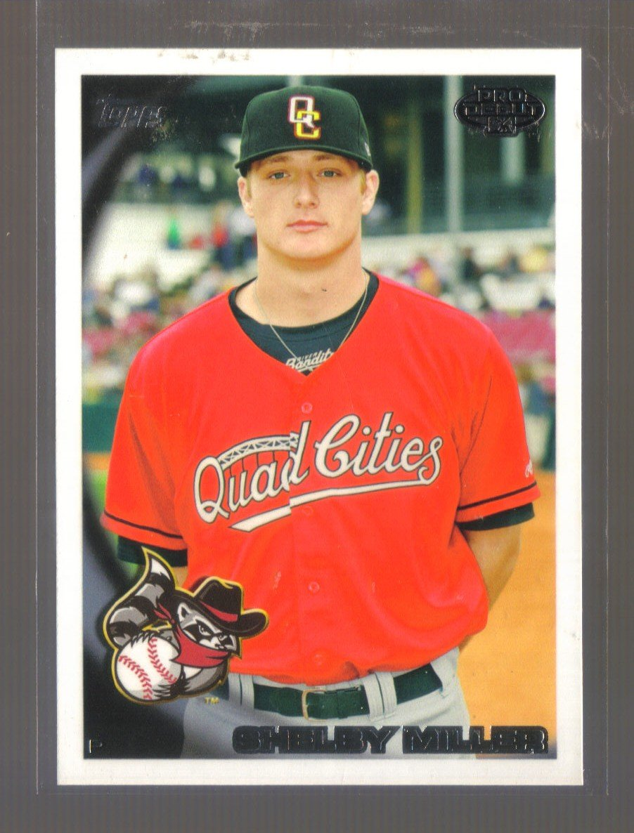 2010 Topps Pro Debut  #73  SHELBY MILLER   Cardinals