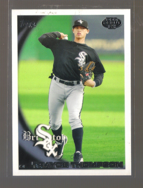 2010 Topps Pro Debut  #89  TRAYCE THOMPSON   White Sox