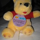 """Counting"" Winnie the Pooh 12"" Plush Toy"
