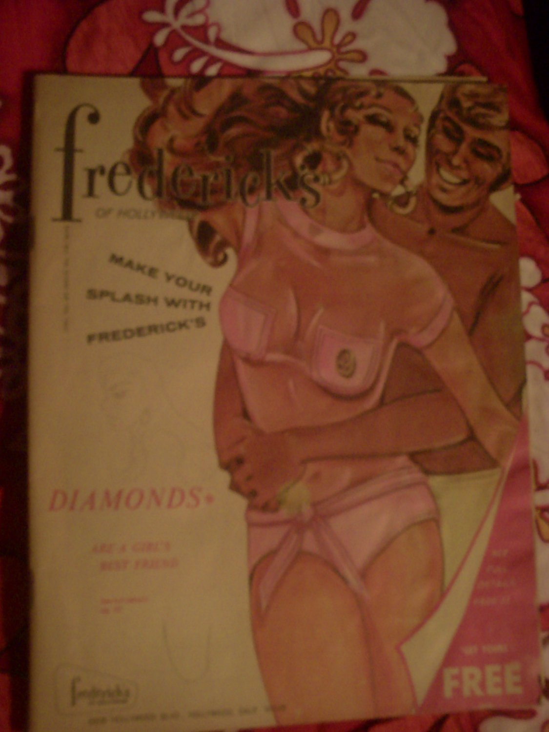 Set of 2 vintage Frederick's of Hollywood catalogs