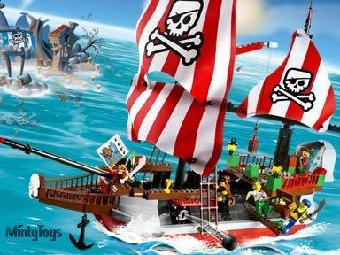 LEGO 7075 4 Juniors Captain Redbeard's Pirate Ship