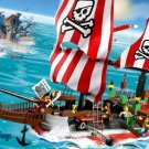 LEGO 7075 4 Juniors Captain Redbeard&#39;s Pirate Ship
