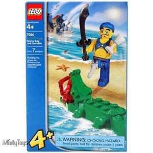 LEGO 7080 4 Juniors Scurvy Dog and Crocodile