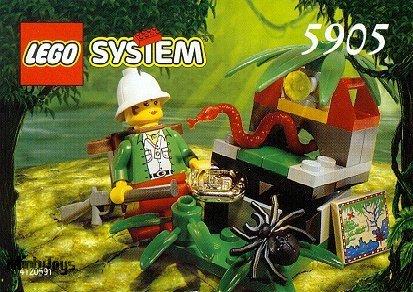 LEGO 5905 Adventurers Hidden Treasure