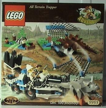 LEGO 5955 Adventurers All Terrain Trapper