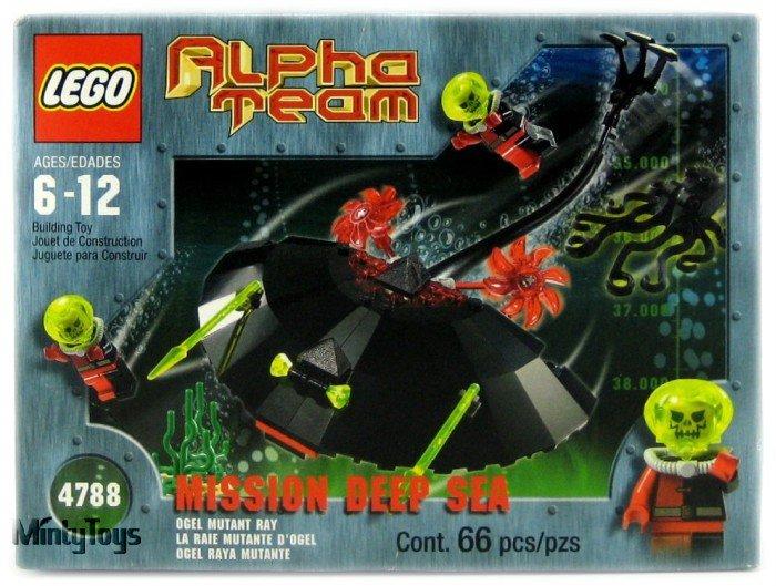 LEGO 4788 Alpha Team Ogel Mutant Ray