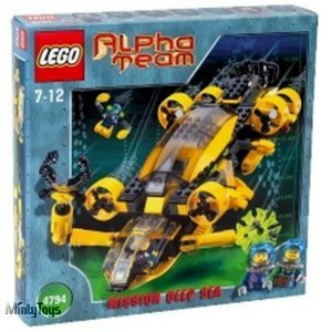 LEGO 4794 Alpha Team Alpha Team Command Sub