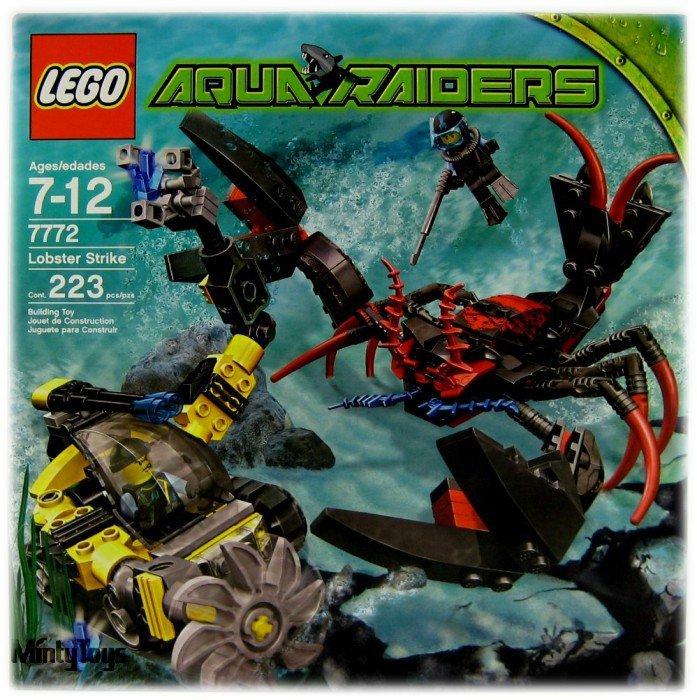 LEGO 7772 Aqua Raiders Lobster Strike