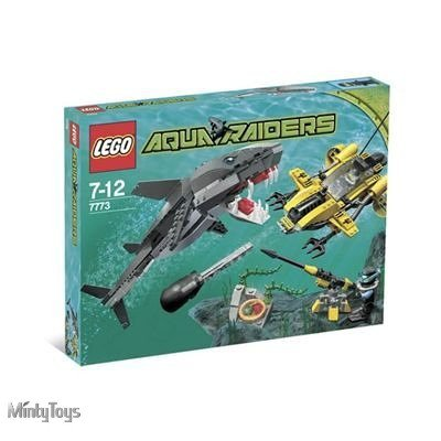 LEGO 7773 Aqua Raiders Tiger Shark Attack