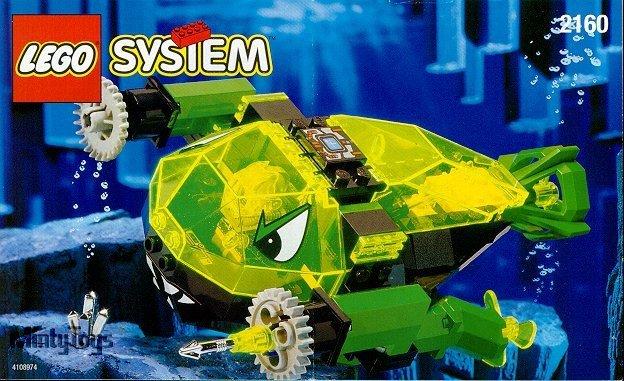 LEGO 2160 Aquazone Crystal Scavenger