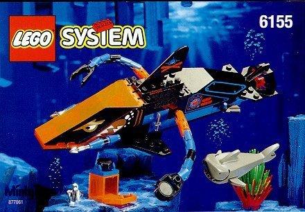 LEGO 6155 Aquazone Deep Sea Predator
