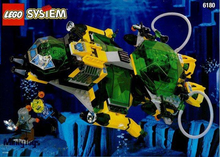 LEGO 6180 Aquazone Hydro Search Sub