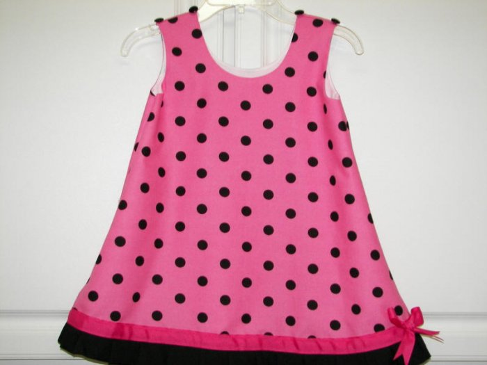 Custom Polka Dot Dress Sz 5/6