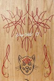 Pinstriped Cat