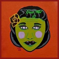 Zombie Lady Print