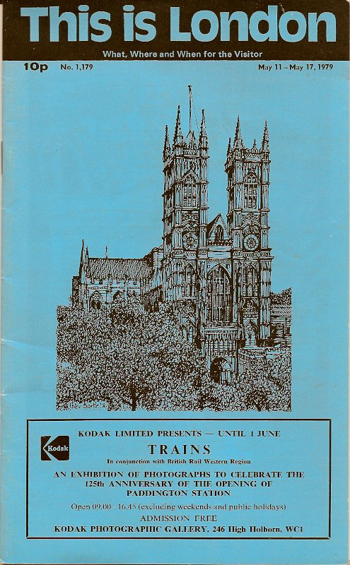 This Is London 1979 Tourist Booklet