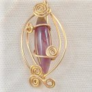 Self Control, Amethyst in 14k Gold filled wire
