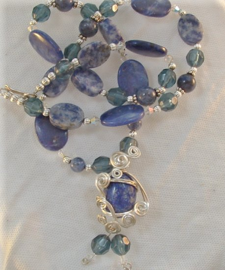 Midnight Princess, Lapis Lazuli Necklace