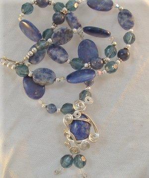 Midnight Princess, Lapis Lazuli Necklace