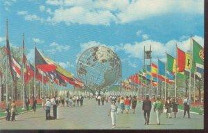 Unisphere - New York World's Fair 1964-1965 Post Card