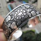 Charming Tibet silver bracelet turtle longevity(A113)
