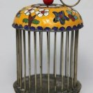 The old China cloisonne manual cage