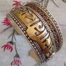 Manual charming beautiful Tibetan jewelry silver bracelet(A142)