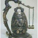 Tibet bronze Buddha dragon singing clock