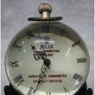Work CHINESE OLD BRASS GLASS pocket watch BALL clock(B142)