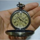 Chinese Brass Long Chain Pocket Watch/Clock(B141)