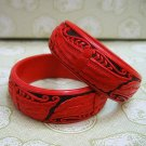 Folk craft pure manual bracelet a pair of the iris QiDiao bracelet (16)