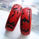 Pure manual QiDiao bracelets bracelets fish grain lotus (19)