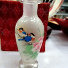 Manual painting the painting vase household adornment is placed flowers and birds