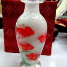 Manual painting the painting vase household adornment is placed goldfish
