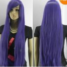 2012 New pretty purple straight long wigs